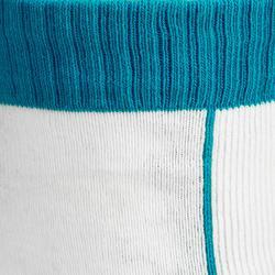 Calcetines Patinaje Patiente Skateboard Oxelo Play Niños Azul Blanco