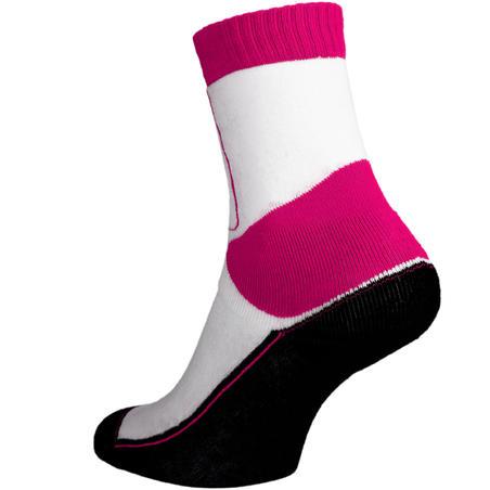 Дитячі шкарпетки Play для катання на роликах - Рожеві/Білі
