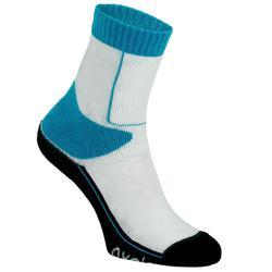 Calcetines de roller niños PLAY azul blanco
