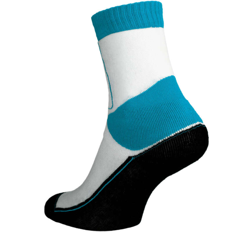 INLINESSKYDD VUXEN Populärt - Strumpa PLAY blå vit OXELO - Underkläder