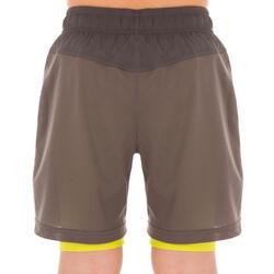 Short Thermic kinderen 2 in 1 tennis/badminton/tafeltennis/padel/squash - 1022307
