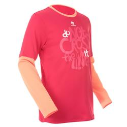 Kindershirt Essentiel 500 voor tennnis, badminton