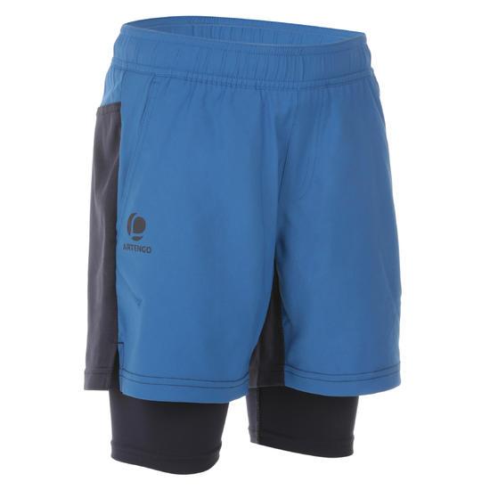 Short Thermic kinderen 2 in 1 tennis/badminton/tafeltennis/padel/squash - 1022335