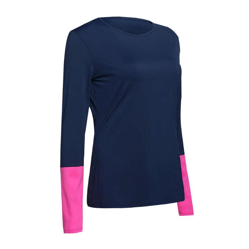 WOMAN COOL APPAREL Tennis - Essential Women's T-Shirt Blue ARTENGO - Tennis Clothes