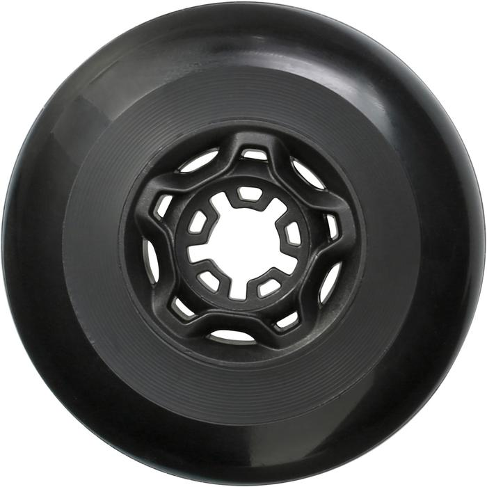 4 roues roller freeride 80mm 82A noires