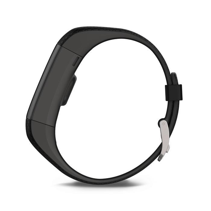 Bracelet d'activité Vivosmart HR+ cardio au poignet noir