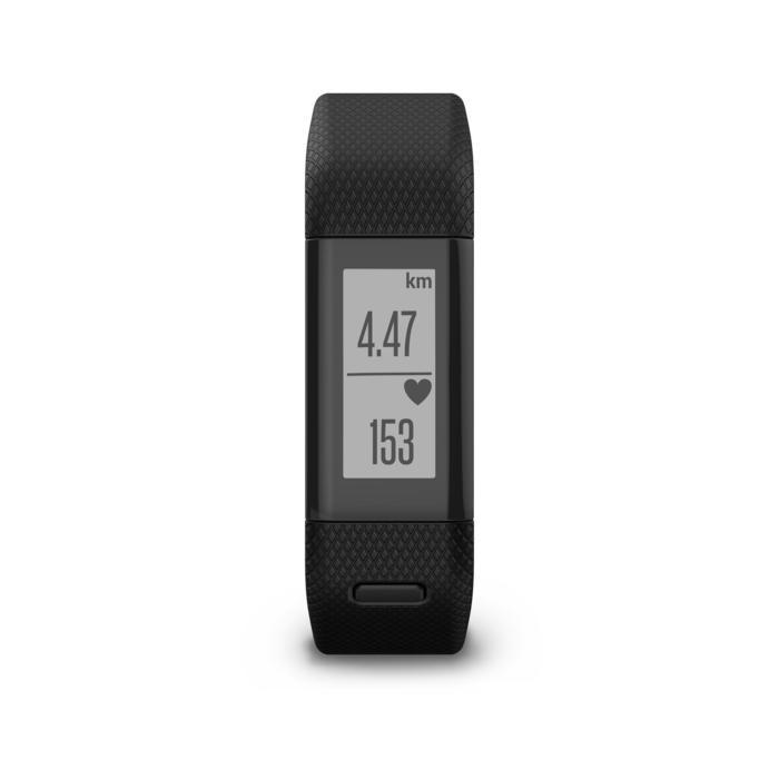 Bracelet d'activité Vivosmart HR+ cardio au poignet noir - 1022678