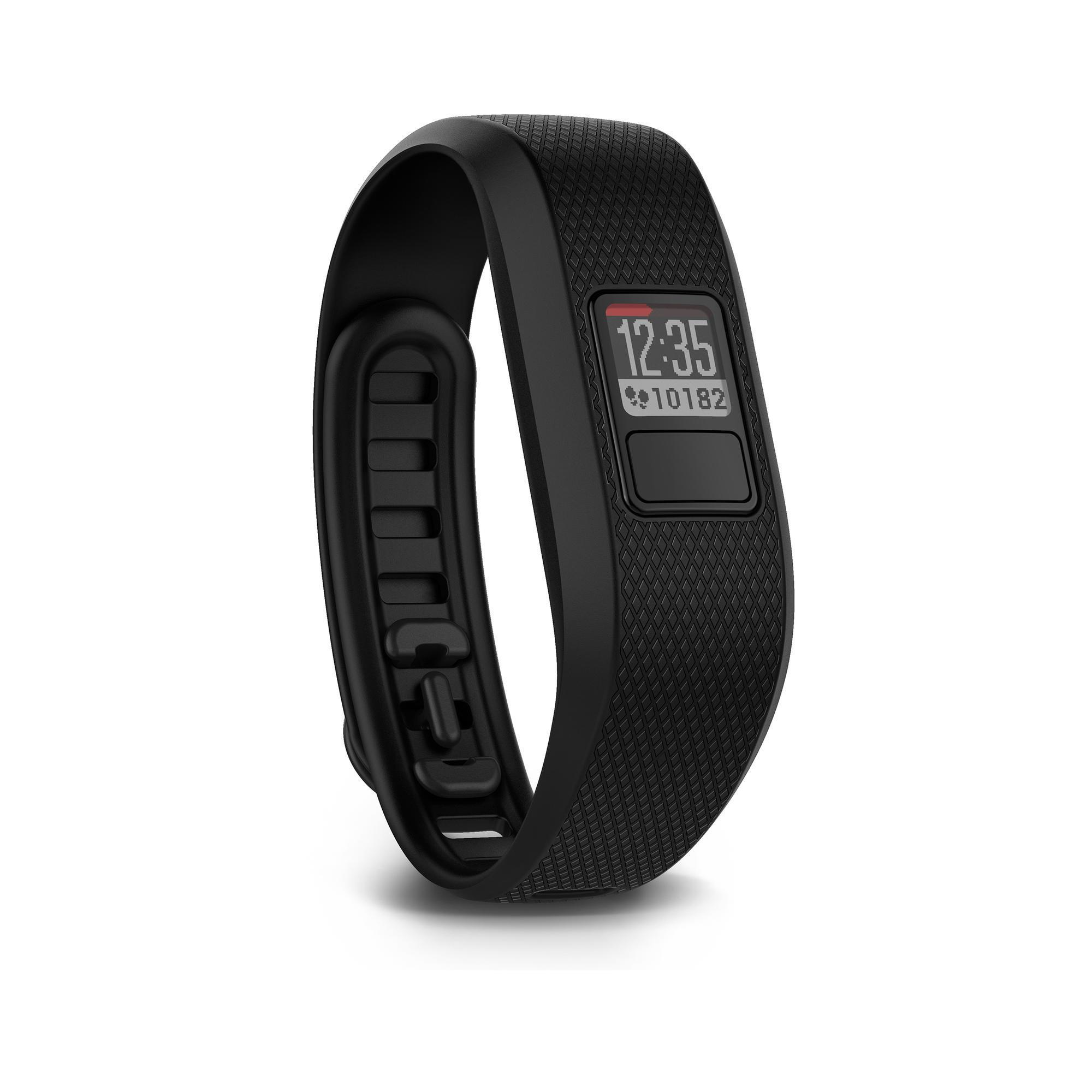 Fitnessarmband Vivofit 3 schwarz | Schmuck > Armbänder > Fitness-Armbänder | Schwarz | Garmin