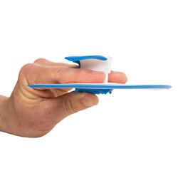 Peddel Fingerpaddle Quick'in voor zwemmen wit/blauw - 1022720