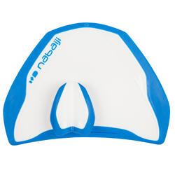 Peddel Fingerpaddle Quick'in voor zwemmen wit/blauw - 1022726