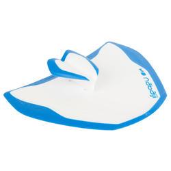 Peddel Fingerpaddle Quick'in voor zwemmen wit/blauw - 1022729