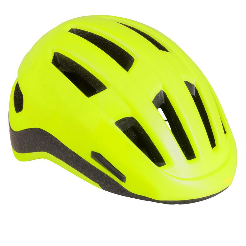 Şehir Bisikleti Kaskı - Neon Sarı - 500