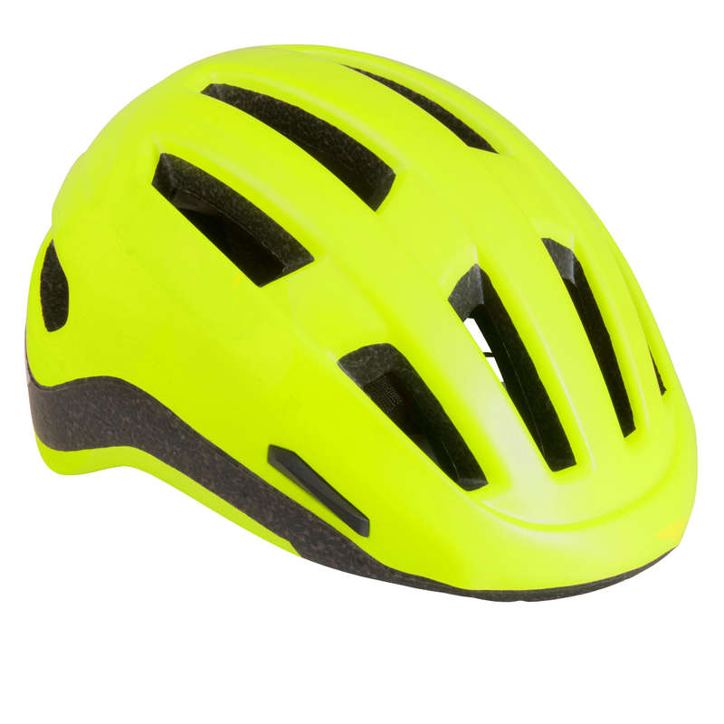 URBAN / INTERMODAL HELMET Cycling - 500 Urban cycling Helmet - Neon Yellow B'TWIN - Cycling