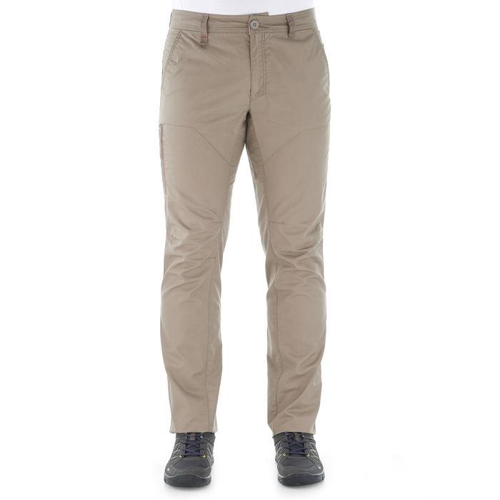 Pantalon randonnée nature homme NH500 gris foncé - 1022752