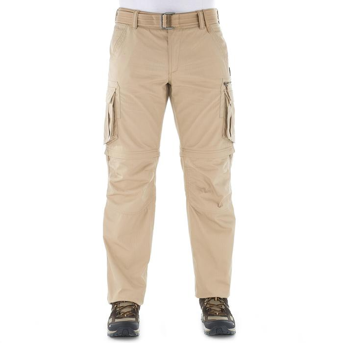 Pantalon modulable TRAVEL 100 HOMME - 1022762