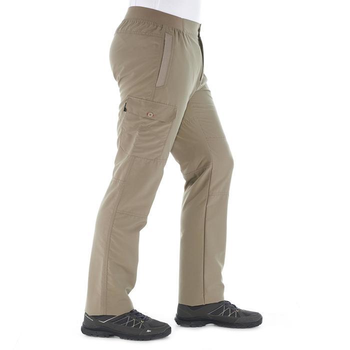Pantalon randonnée nature NH100 beige homme