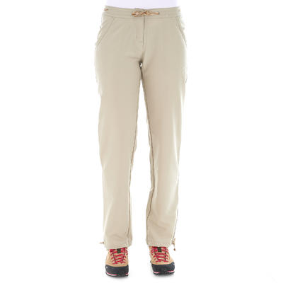 מכנסי דגמ_QUOTE_ח לנשים דגם Arpenaz 50 - בז'