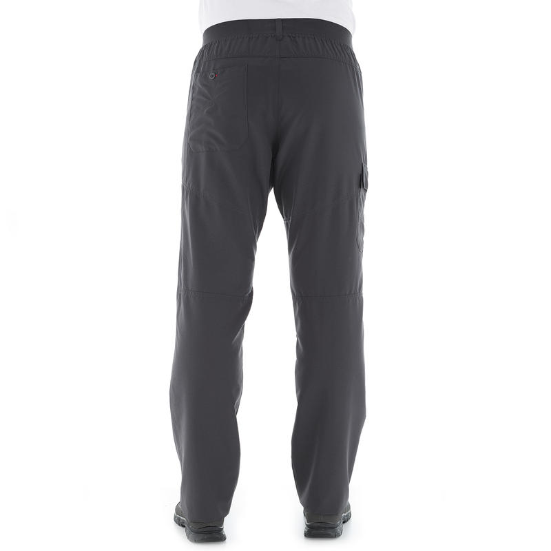 Men's Hiking Trousers NH100 - Grey