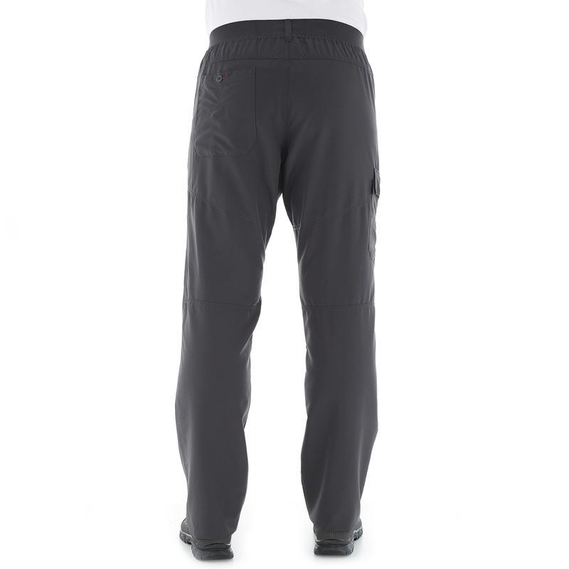 Men's Hiking Pant NH100 - Grey