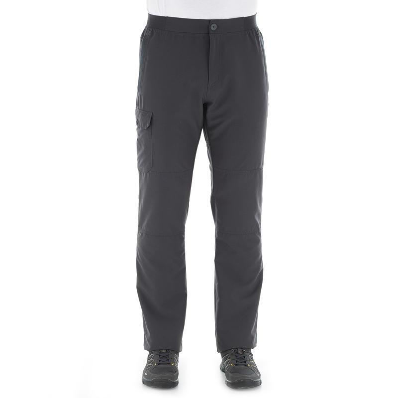 Pantalón senderismo en la naturaleza hombre NH100 gris