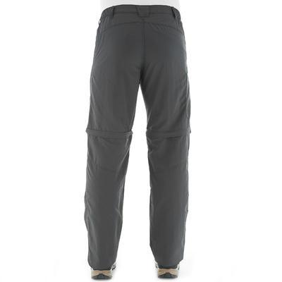 Pantalon Modulable Randonnée Forclaz 50 Modul homme Gris