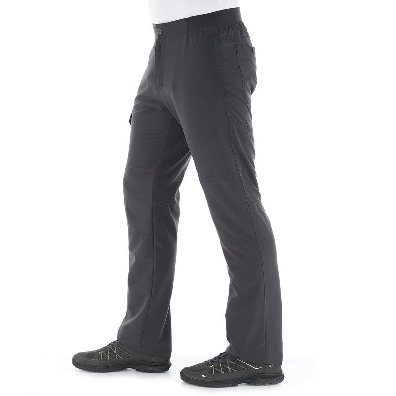 NH100 men's country walking trousers - grey
