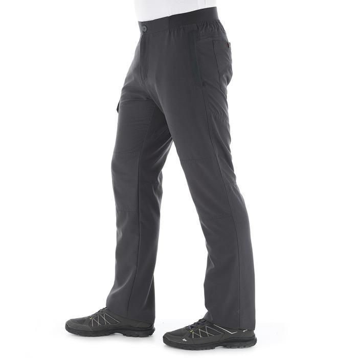 Pantalon randonnée nature NH100 gris homme