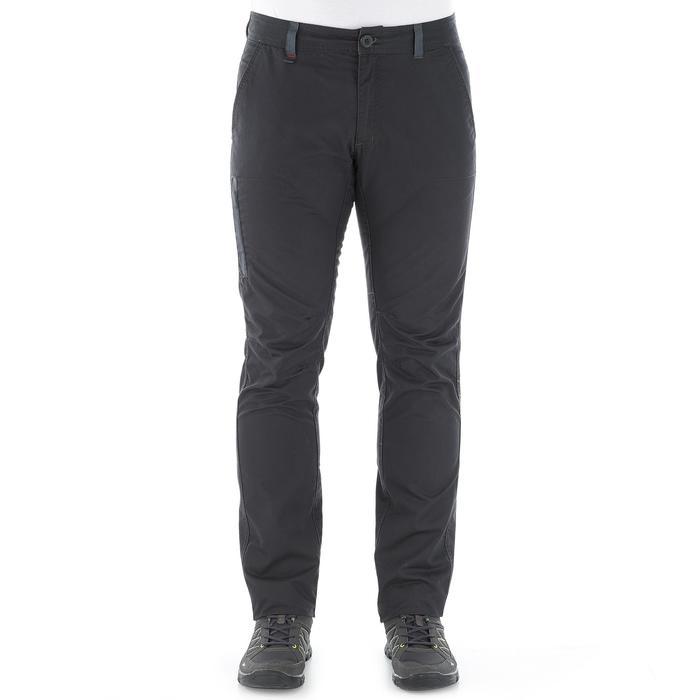 Pantalon randonnée nature homme NH500 gris foncé - 1022821