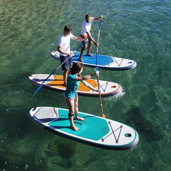 STAND UP PADDLE GONFLABLE RANDONNEE 100 / 9'8 ORANGE - 1022837