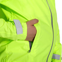 Regenjasje voor de fiets 500 kinderen fluogeel - 1022842