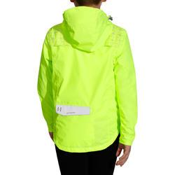 Regenjasje voor de fiets 500 kinderen fluogeel - 1022843