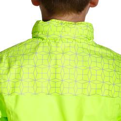 Regenjasje voor de fiets 500 kinderen fluogeel - 1022845
