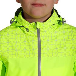 Regenjasje voor de fiets 500 kinderen fluogeel - 1022846