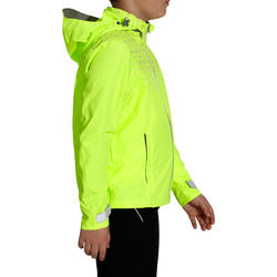 Regenjasje voor de fiets 500 kinderen fluogeel - 1022847