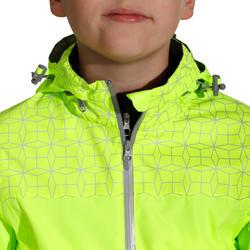 Regenjasje voor de fiets 500 kinderen fluogeel - 1022851