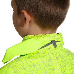 Regenjasje voor de fiets 500 kinderen fluogeel - 1022852