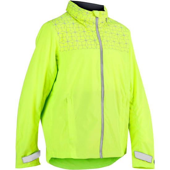 Regenjasje voor de fiets 500 kinderen fluogeel - 1022853