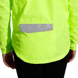 Regenjasje voor de fiets 500 kinderen fluogeel - 1022855