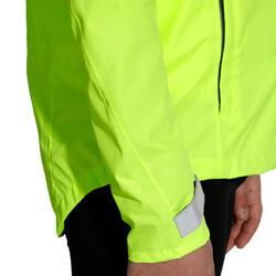Regenjasje voor de fiets 500 kinderen fluogeel - 1022856