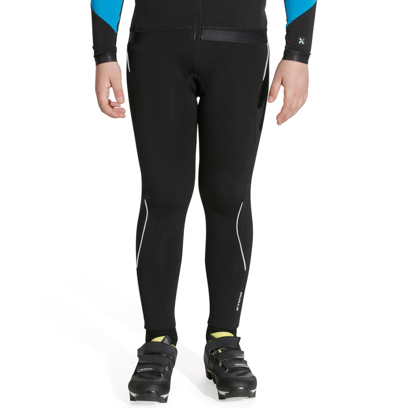 300 Junior Cycling Tights - Black