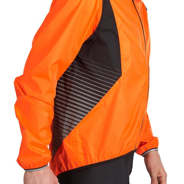 COUPE PLUIE VELO HOMME 500 FLUO SOFTLIME - 1022909