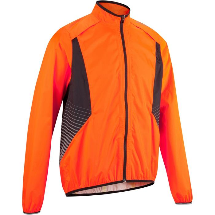 COUPE PLUIE VELO HOMME 500 FLUO SOFTLIME - 1022920
