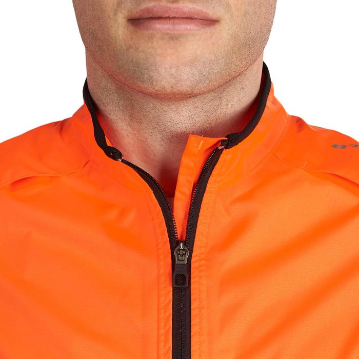 COUPE PLUIE VELO HOMME 500 FLUO SOFTLIME - 1022922