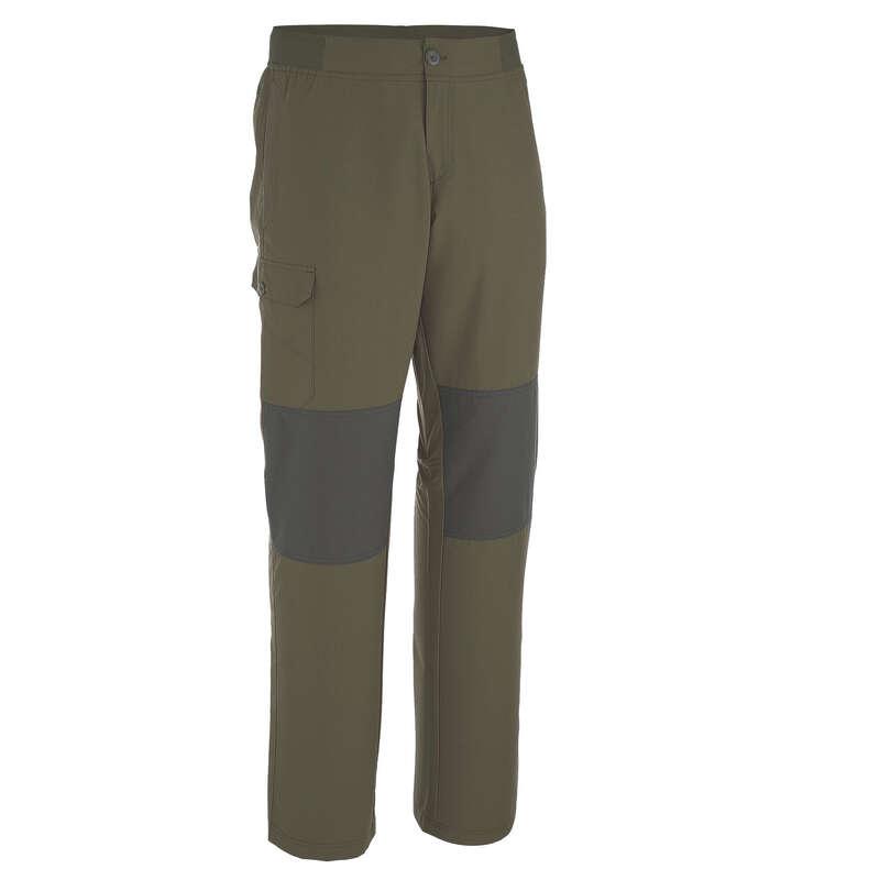 Wanderhosen Herren Naturwandern Herrenbekleidung - Wanderhose NH100 Herren kaki QUECHUA - Herrenbekleidung