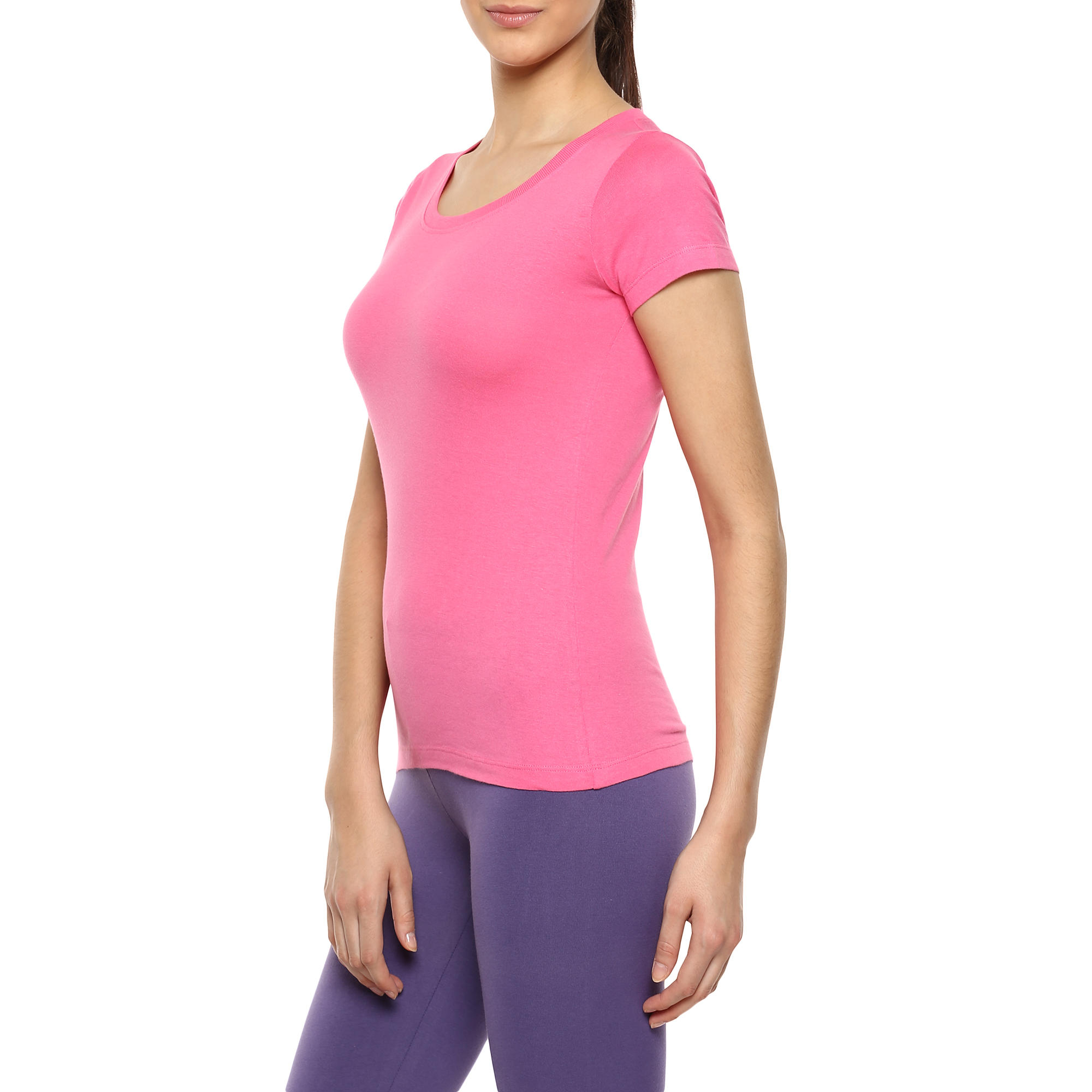WOMEN SPORTEE FITNESS ESSENTIAL T-SHIRT GIRLY PINK