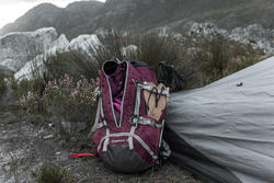 Backpack Easyfit voor dames 50 liter paars - 1023046