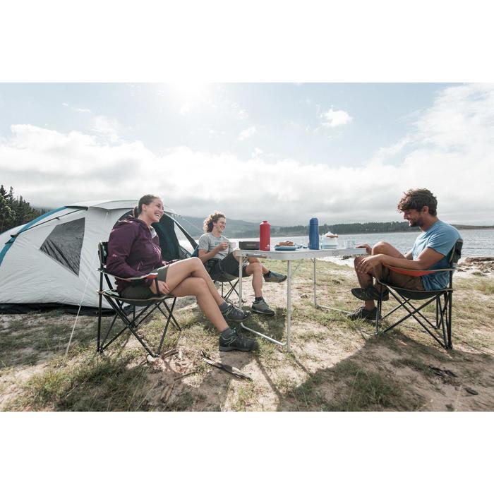 Table de camping 4 personnes avec 4 sièges - 1023077