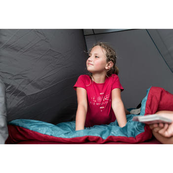 Wandelsandalen voor kinderen NH500 rood pix