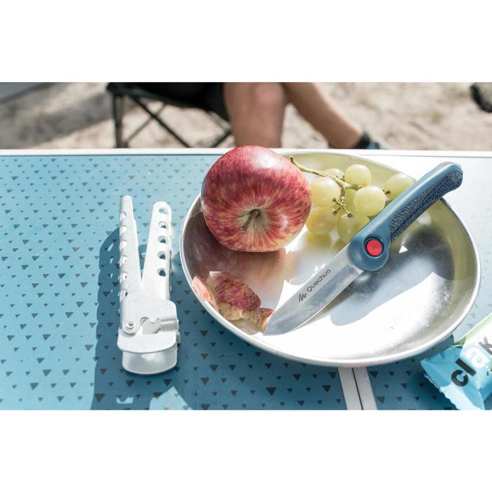 Plat bord voor trekkers en wandelaars MH150 rvs (0,45 liter)