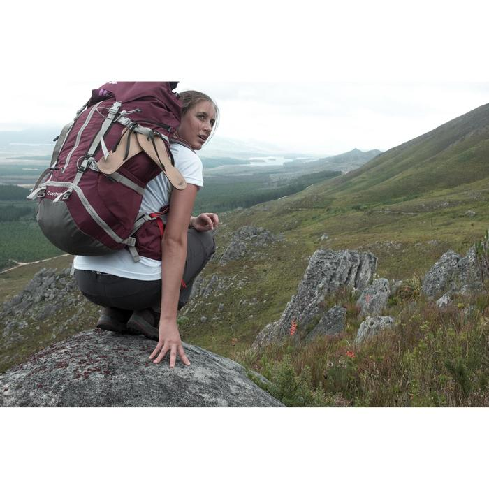 Pantalon modulable trekking Forclaz 100 femme - 1023152
